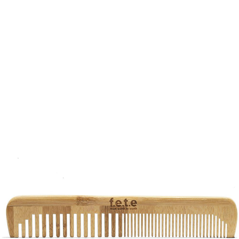Slim Bamboo Comb  by F.E.T.E. at Petit Vour