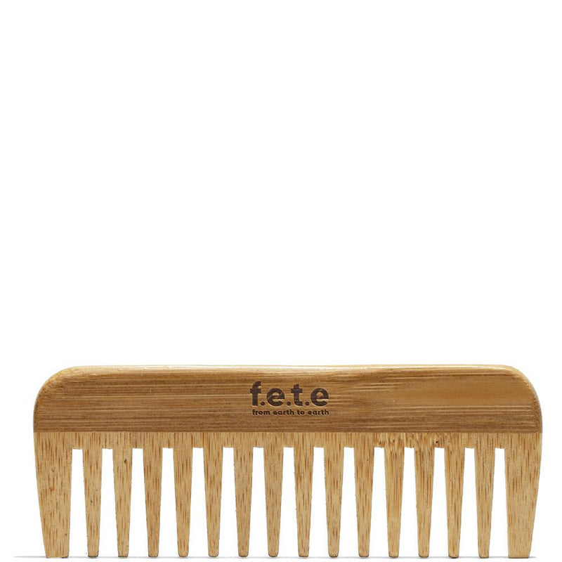 Wide Bamboo Comb  by F.E.T.E. at Petit Vour