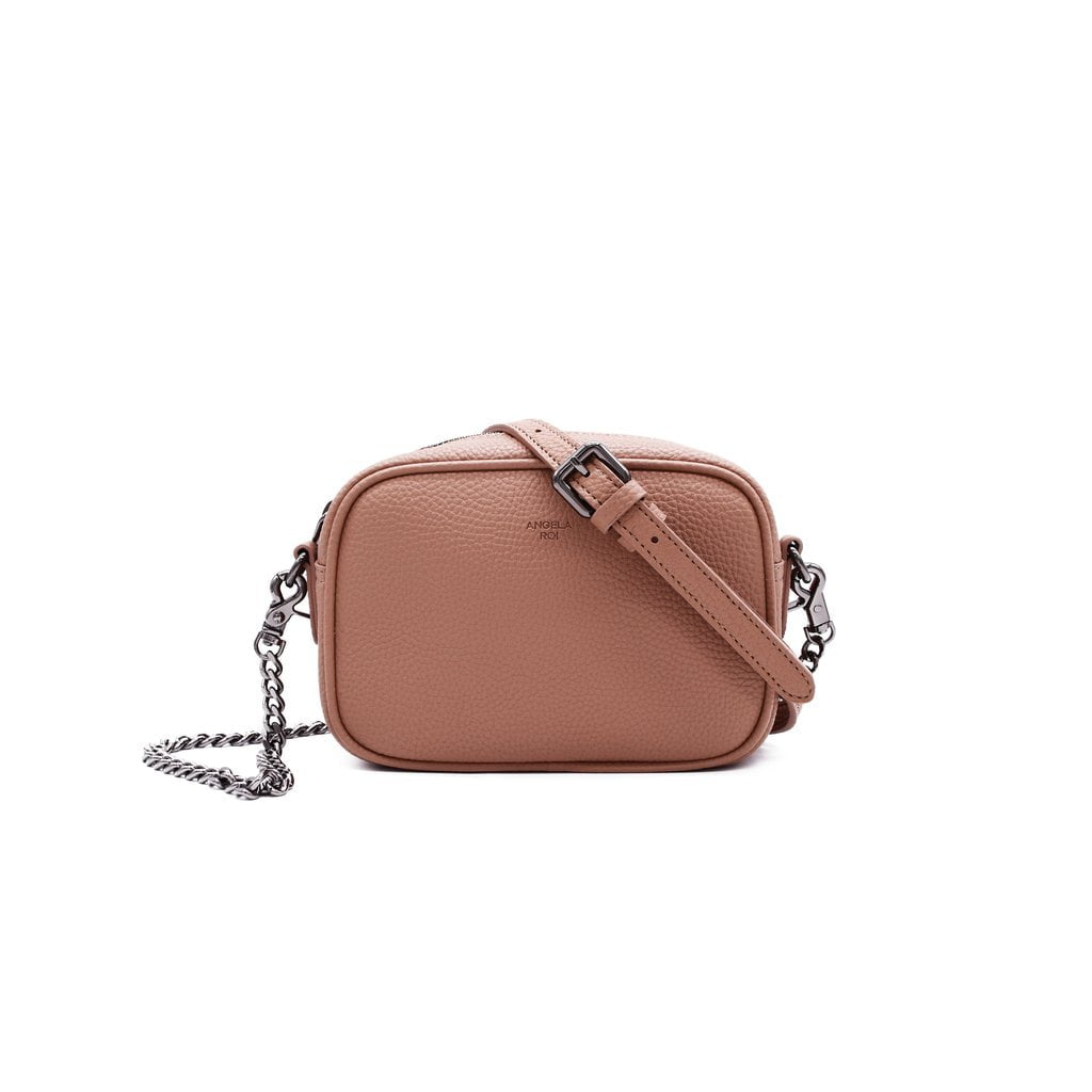 Grace Micro Crossbody Signet  by Angela Roi at Petit Vour