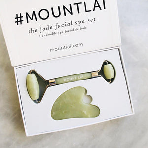 Jade Facial Spa Set  by Mount Lai at Petit Vour