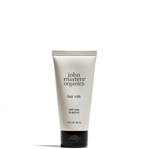 Hair Milk with Rose & Apricot 1 oz / 30 mL by John Masters Organics at Petit Vour