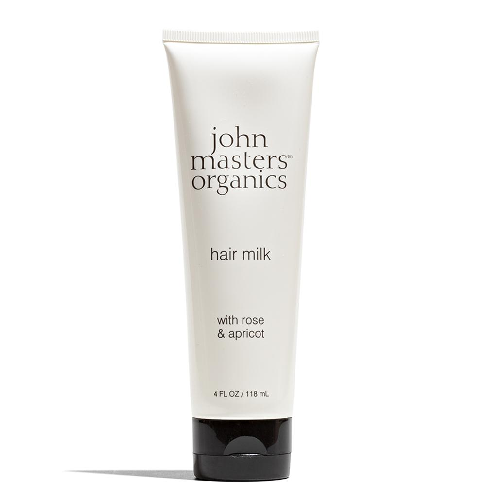 Hair Milk with Rose & Apricot 4 oz / 118 mL by John Masters Organics at Petit Vour