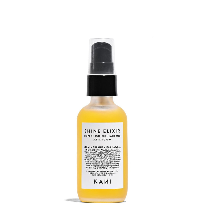 Shine Elixir Nourishing Hair Oil 2 fl oz by Kani Botanicals at Petit Vour
