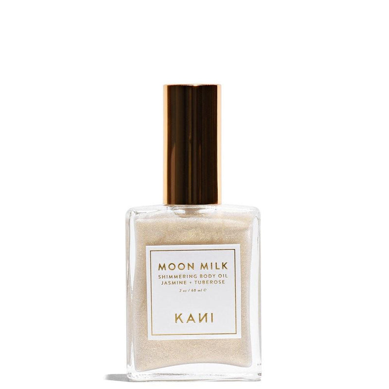 Moon Milk Shimmering Body Oil 60 mL by Kani Botanicals at Petit Vour