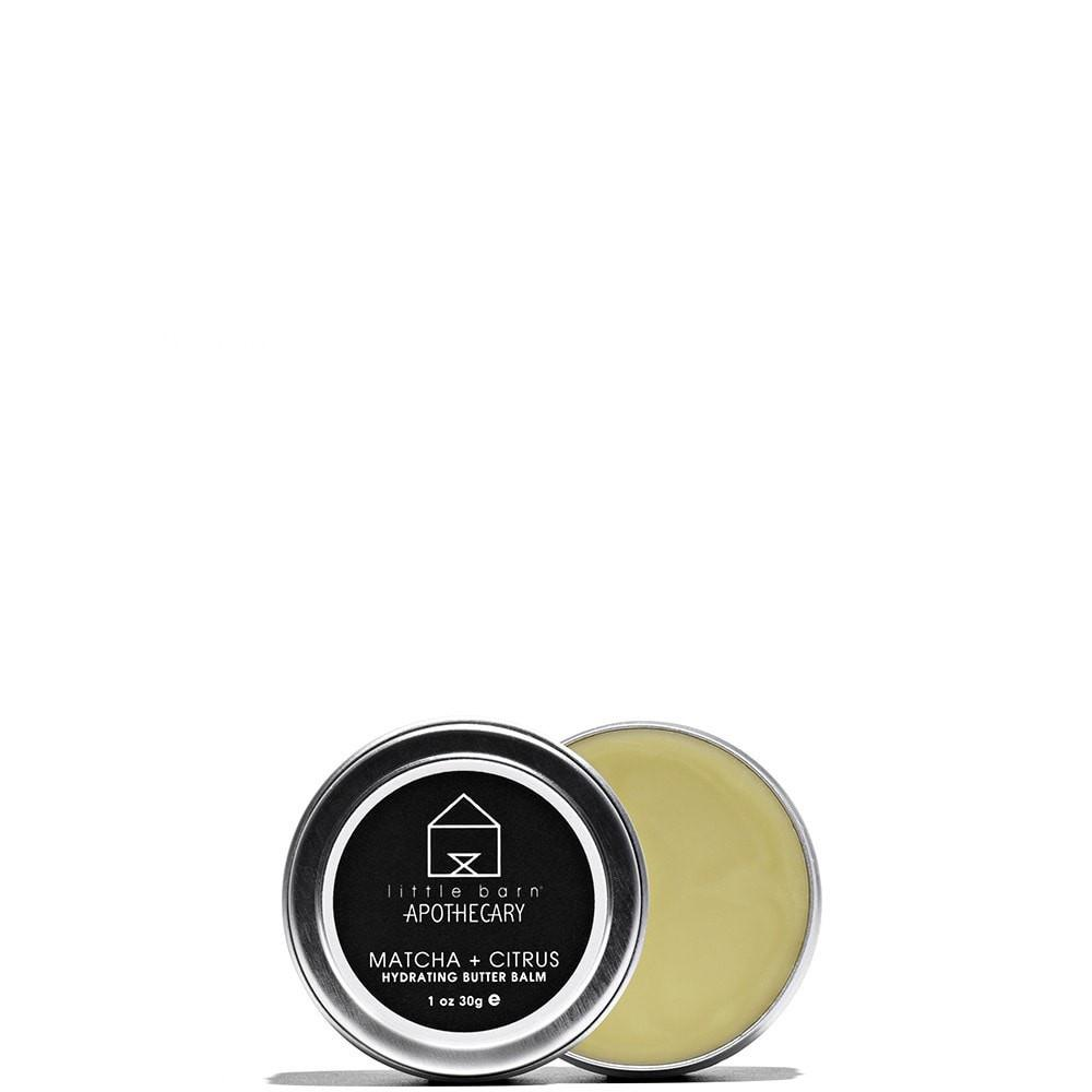 Matcha + Citrus Hydrating Butter Balm Citrus by Little Barn Apothecary at Petit Vour
