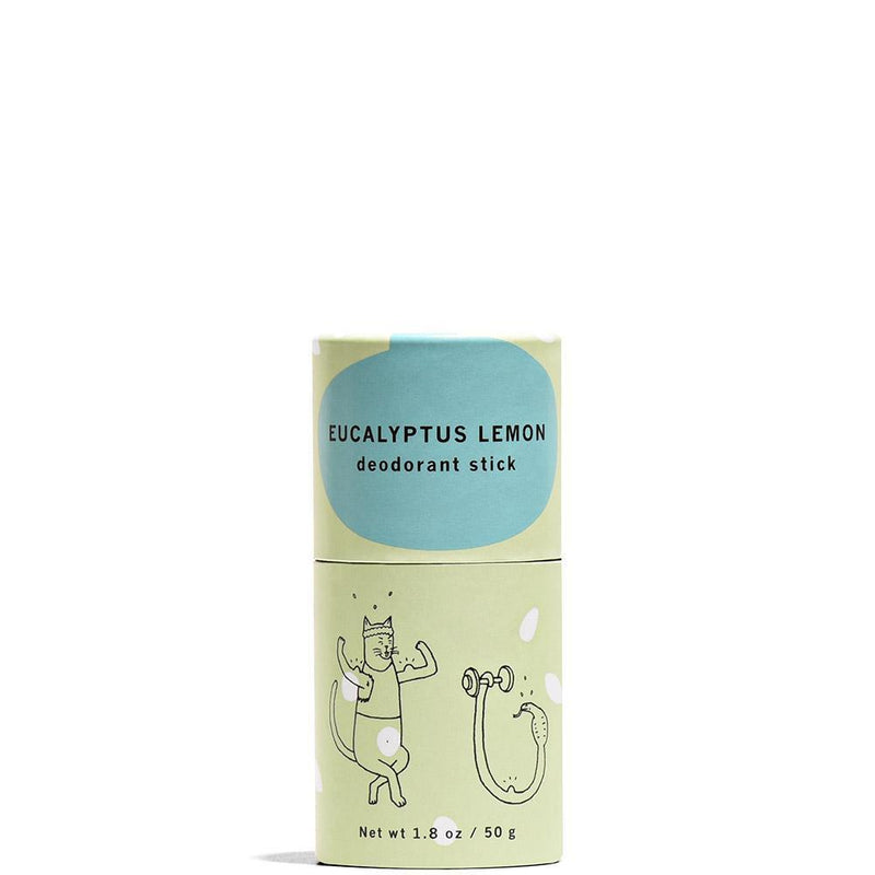 Eucalyptus Lemon Deodorant Stick 1.8 oz by Meow Meow Tweet at Petit Vour