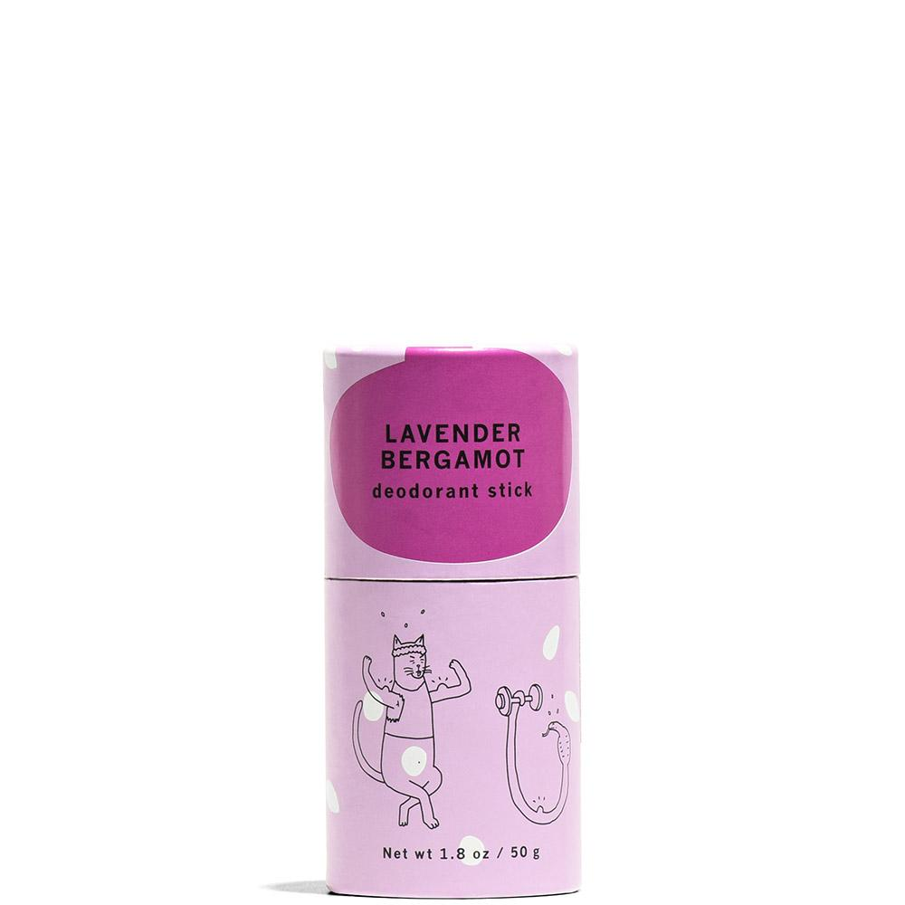 Lavender Bergamot Deodorant Stick 1.8 oz by Meow Meow Tweet at Petit Vour