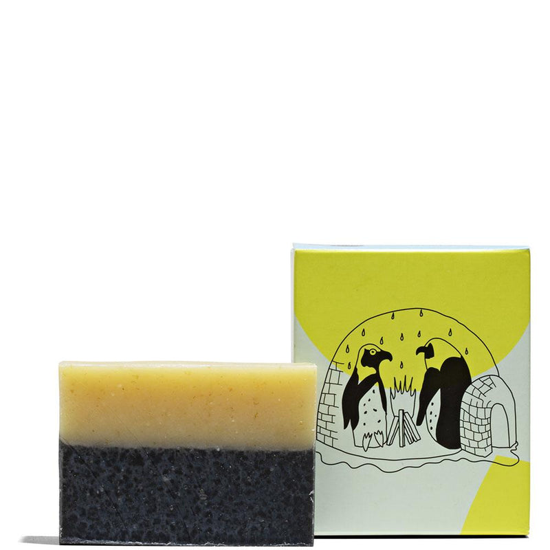 Tea Tree Charcoal Bar Soap 4.5 oz by Meow Meow Tweet at Petit Vour