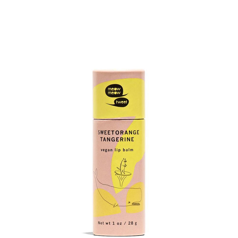 Vegan Lip Balm | Sweet Orange Tangerine Sweet Orange Tangerine by Meow Meow Tweet at Petit Vour