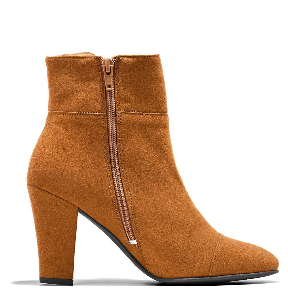 Nae Bline Ankle Boot Brown Side