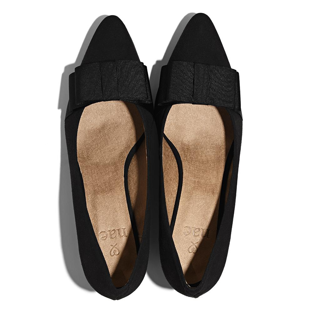 Nae Valentina Flats Black Top