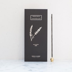 Lavender Essential Oil Incense  by Province Apothecary at Petit Vour