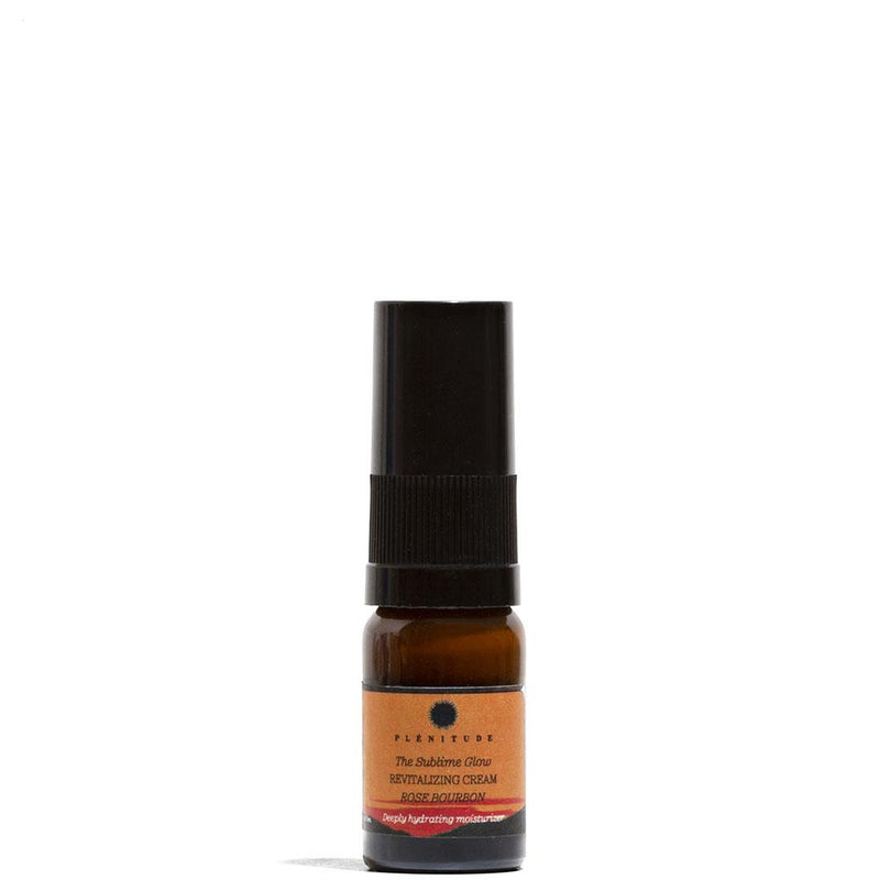 Revitalizing Face Cream with Rose Bourbon 10 mL by Plenitude at Petit Vour