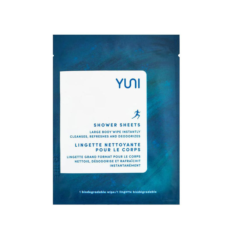 Shower Sheets 12 Wipes by YUNI at Petit Vour