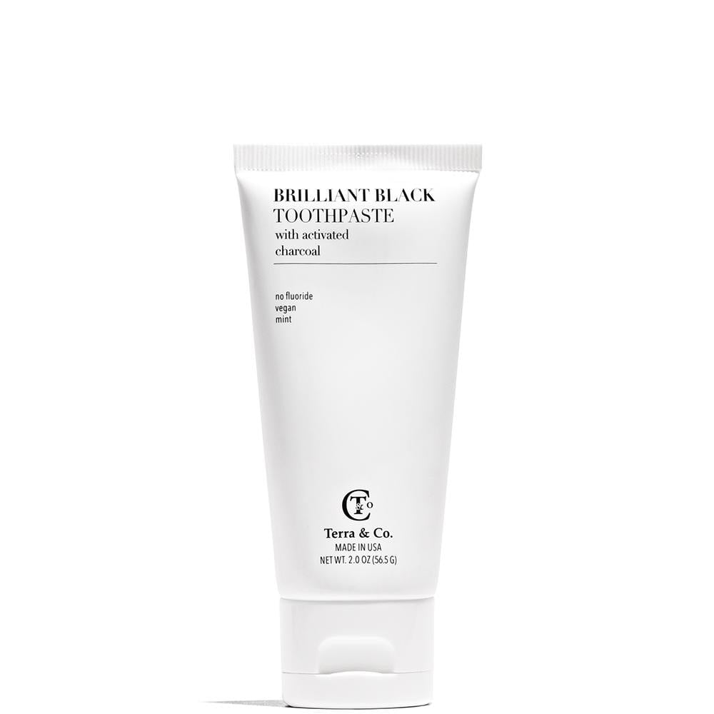 Terra & Co Brilliant Black Toothpaste Travel Size