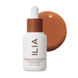 Super Serum Skin Tint SPF 40 Pavones ST16 by ILIA Beauty at Petit Vour