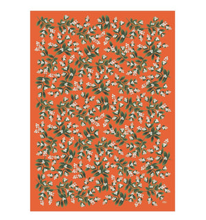 Holiday Gift Wrapping Sheets Mistletoe by Rifle Paper Co. at Petit Vour
