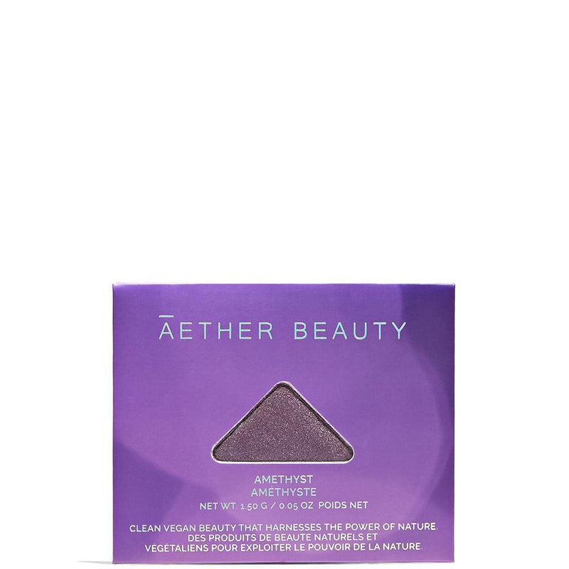 Single Eyeshadow Amethyst 1 by Aether Beauty at Petit Vour
