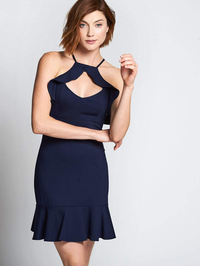 Amanda Uprichard Cia Dress Navy