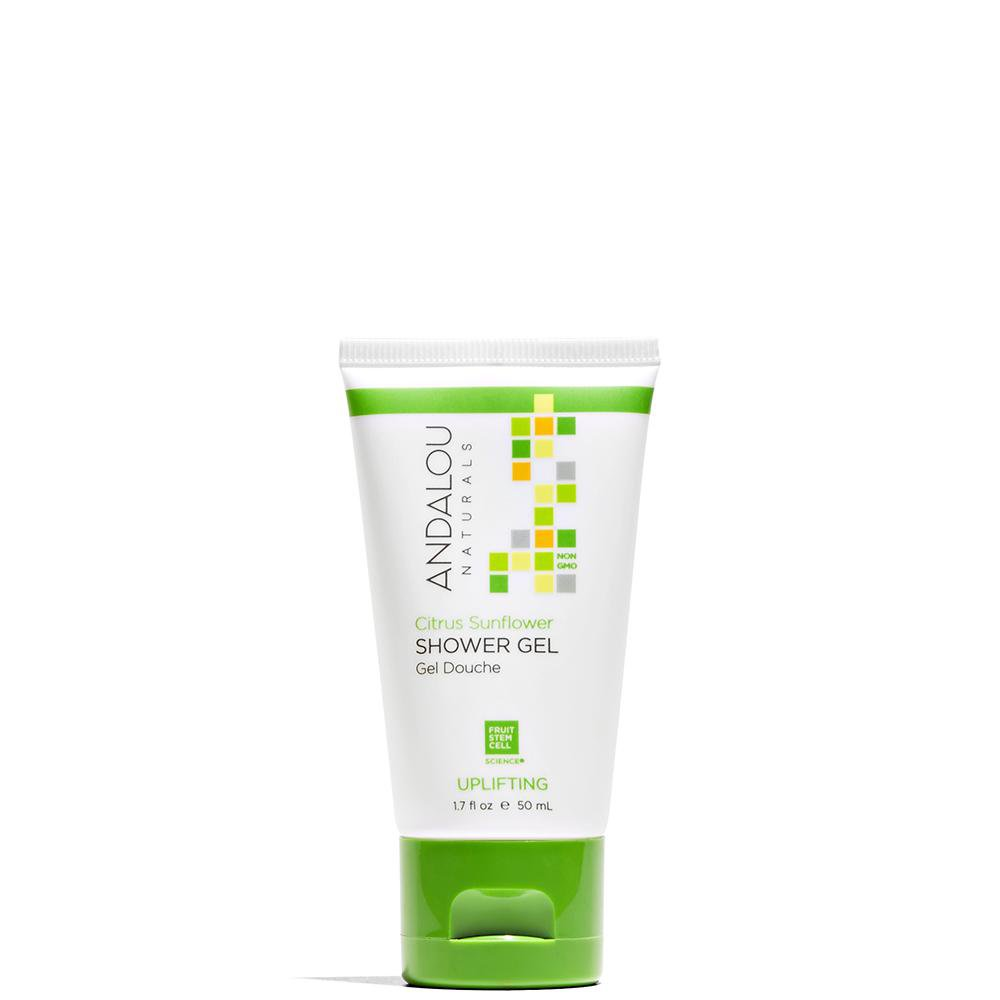 Andalou Naturals Citrus Sunflower Uplifting Shower Gel Sample