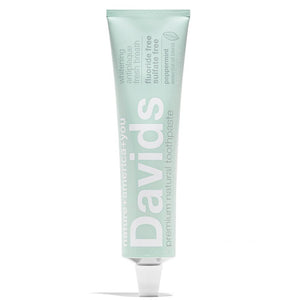 Premium Natural Toothpaste | Peppermint  by Davids at Petit Vour