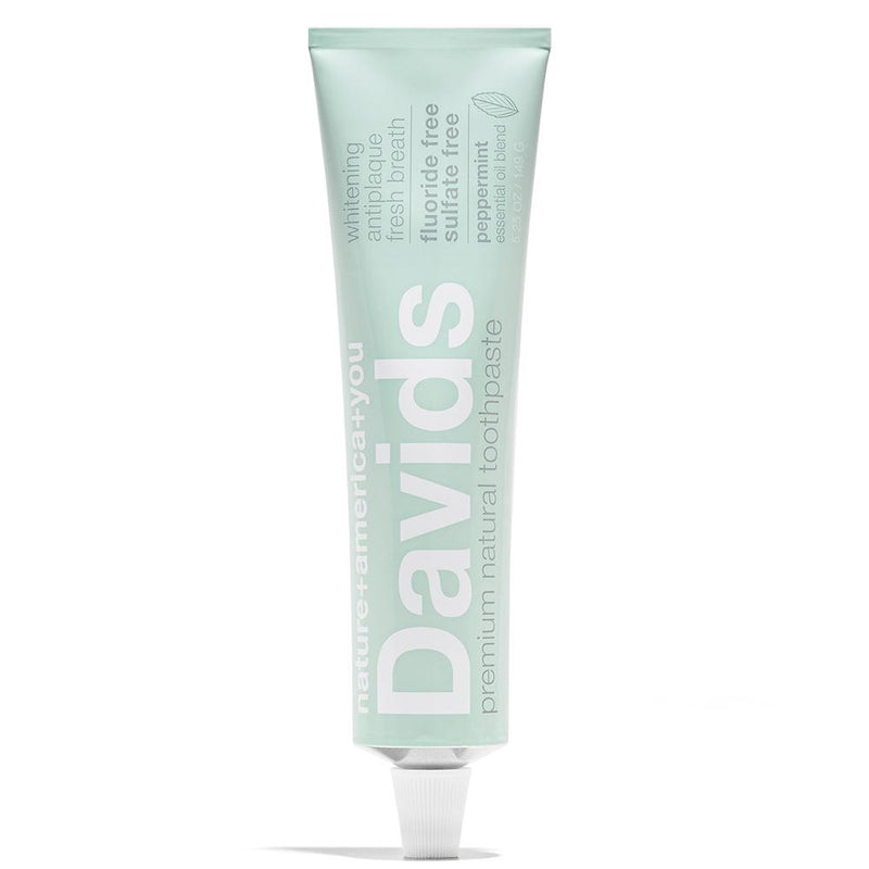 Premium Natural Toothpaste | Peppermint 5.25 oz by Davids at Petit Vour