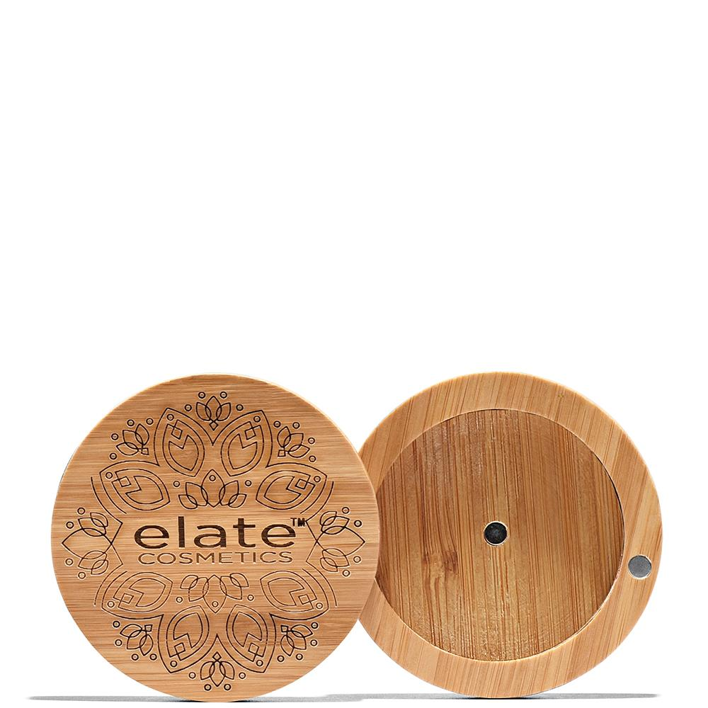 Blush Bamboo Compact  by Elate Cosmetics at Petit Vour