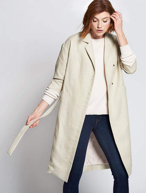 Drop Shoulder Coat  by Emerson Fry at Petit Vour