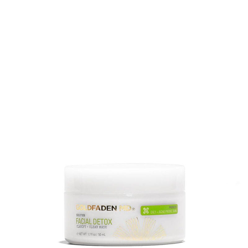 Facial Detox | Purifying Mask 1.7 fl oz | 50 mL by Goldfaden MD at Petit Vour