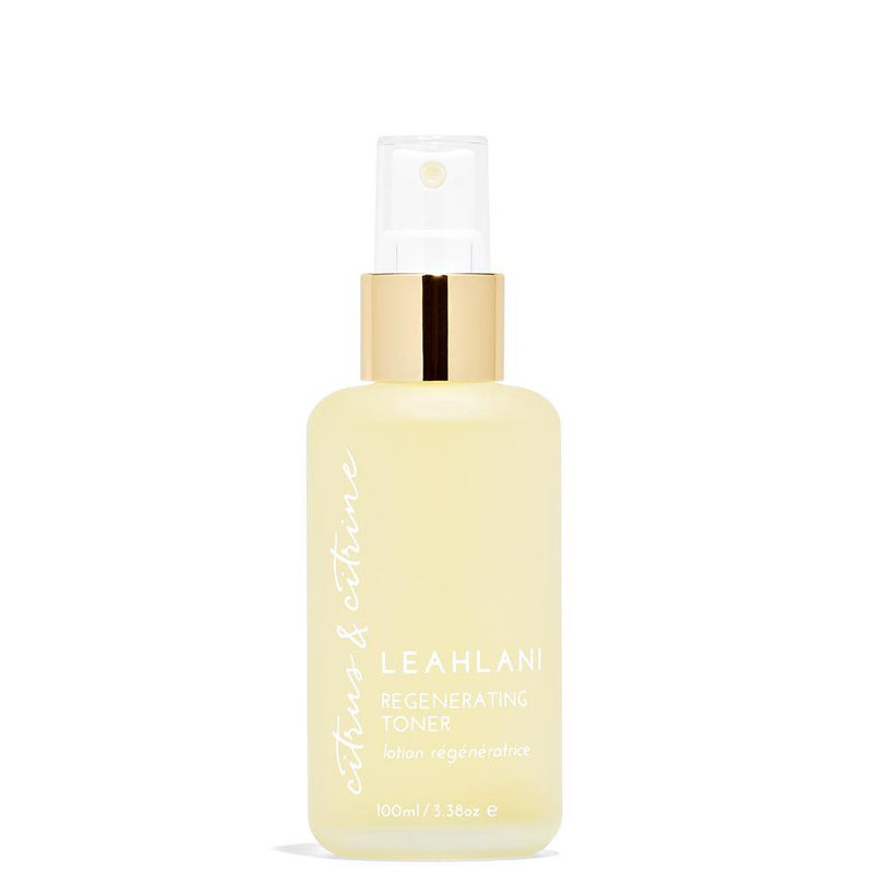 Leahlani Citrus and Citrine Regenerating Toning Mist
