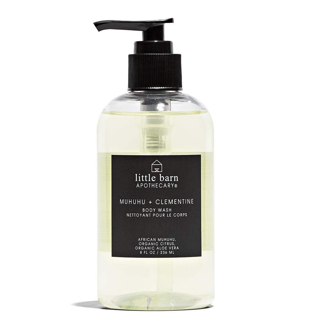 Little Barn Apothecary Muhuhu + Clementine Body Wash
