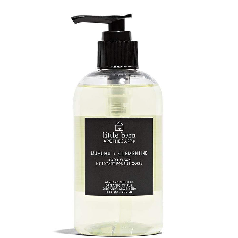 Muhuhu + Clementine Body Wash  by Little Barn Apothecary at Petit Vour