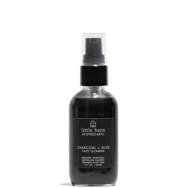 Charcoal + Aloe Face Cleanser  by Little Barn Apothecary at Petit Vour