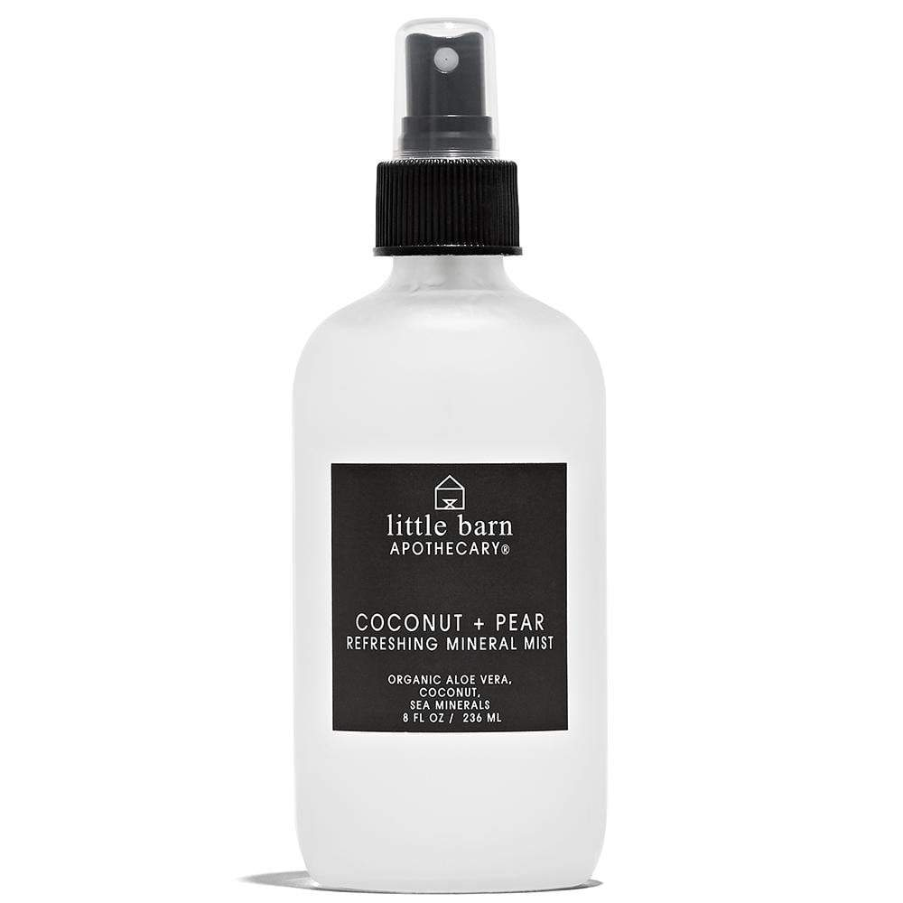 Coconut + Pear Refreshing Body Mist 8 oz by Little Barn Apothecary at Petit Vour
