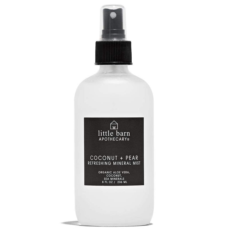 Coconut + Pear Refreshing Body Mist 2 oz by Little Barn Apothecary at Petit Vour