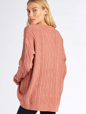 Lance Lace Up Sweater - M  by Show Me Your MuMu at Petit Vour