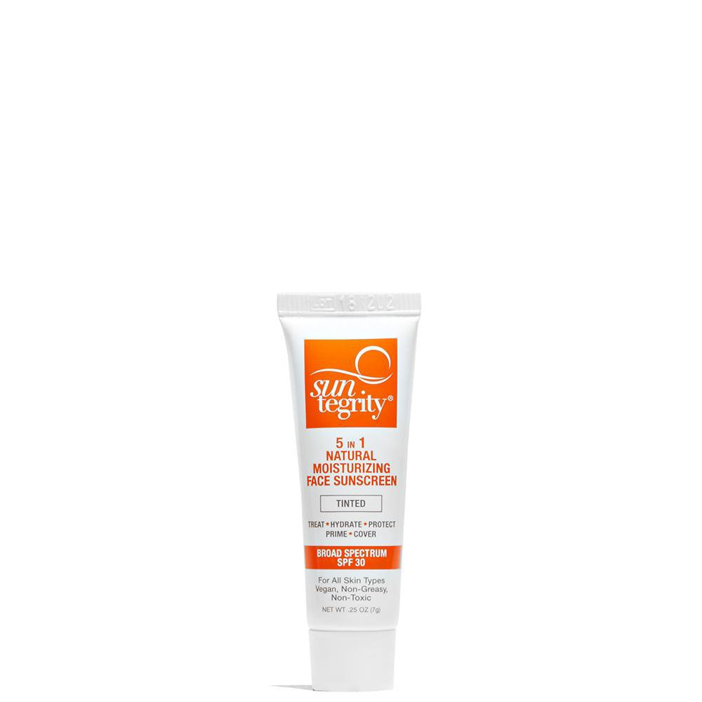 Suntegrity 5-in-1 Natural Tinted Moisturizing Face Sunscreen Sample