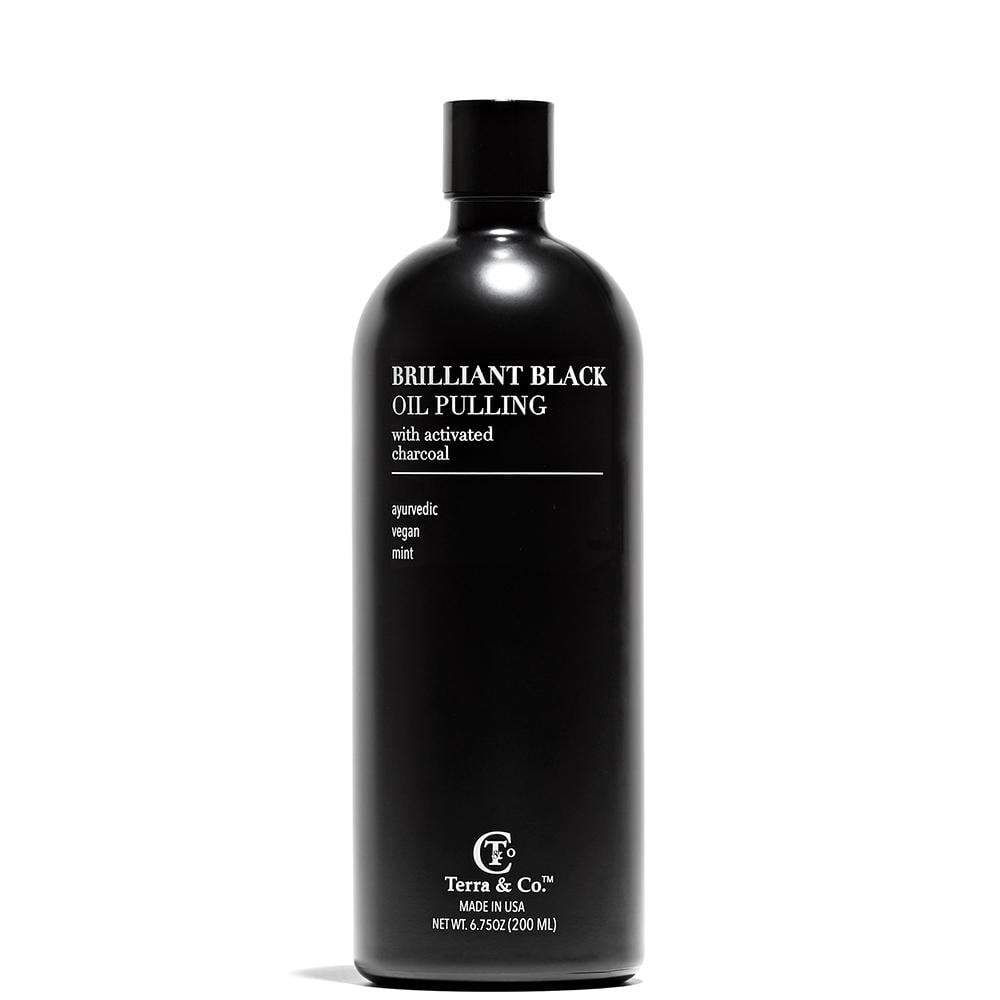 Terra & Co. Brilliant Black Oil Pulling