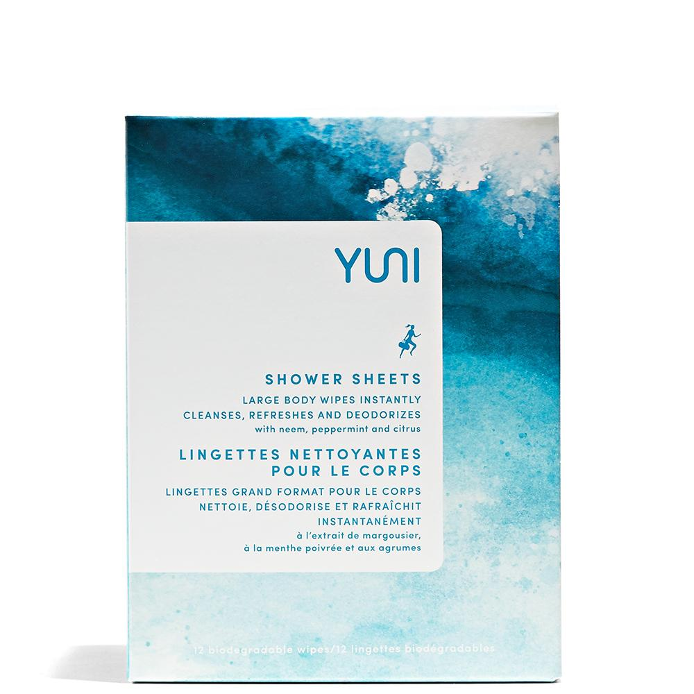 YUNI Shower Sheets