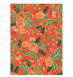 Holiday Gift Wrapping Sheets Jardin Noel by Rifle Paper Co. at Petit Vour