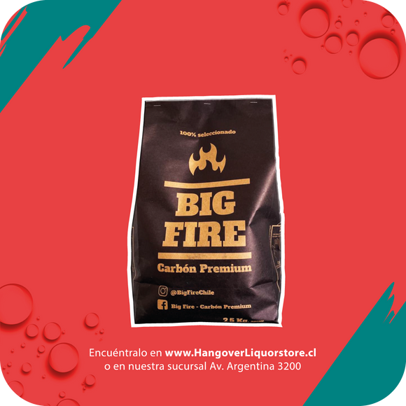 Carbon BIG FIRE 2,5 kg