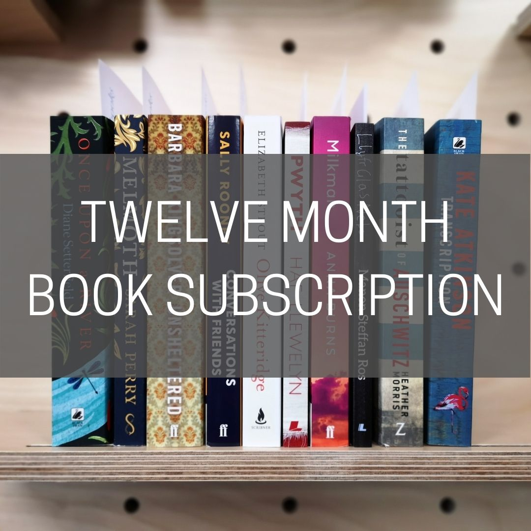 Book Subscription - TWELVE MONTHS (Postal Delivery)