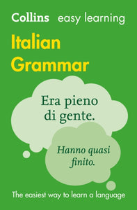 Easy Learning Italian Grammar-9780008142025