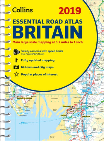 2019 Collins Essential Road Atlas Britain-9780008272708