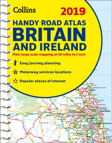 2019 Collins Handy Road Atlas Britain-9780008276409