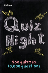 Collins Quiz Night : 10,000 Original Questions in 500 Quizzes-9780008290283