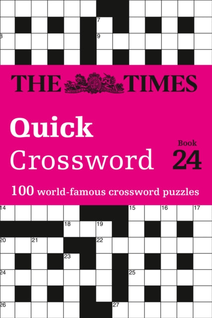The Times Quick Crossword Book 24 : 100 General Knowledge Puzzles from the Times 2-9780008343873