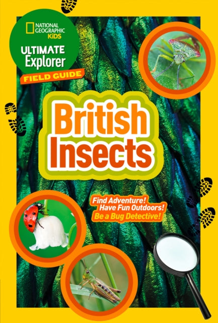 British Insects : Find Adventure! Have Fun Outdoors! be a Bug Detective!-9780008374556