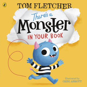 There's a Monster in Your Book-9780141376103