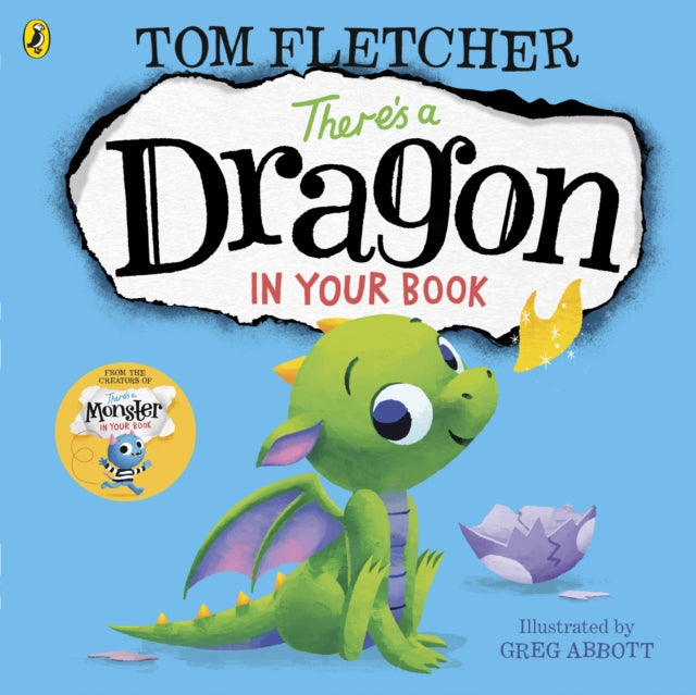 There's a Dragon in Your Book-9780141376134